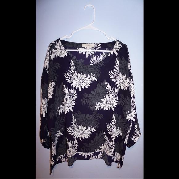 LOFT Tops - Lightweight long sleeve blouse